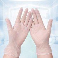 Бытовые чистящие средства 100 шт. / лот одноразовые перчатки ПВХ резиновый материал высокой плотности чистящие Перчатки Перчатки для дома перчатки 7013