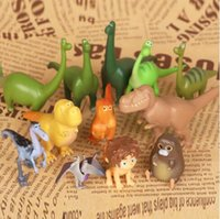 New Kindness Dinosaurs animals doll Action Figure Toy 12pcs ...