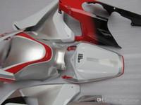 Injectie Mold Backings voor Honda CBR1000RR 2009 2009 2011 Rode Zilver Wit Keuken Kit CBR 1000 RR 08 09 10 11 FF29