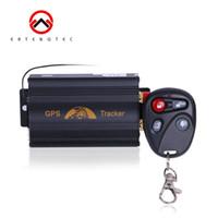 GPS Tracker Auto Tracking Device Crawler Retainer Coban TK103B Snijd Oil GSM GPS Locator Voice Monitor Shock Alarm Gratis Web AppFreeshipping