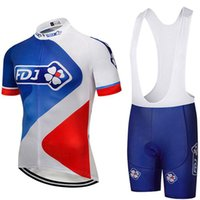 2019 Summer Pro Cycling Uci Tour Team White Red Fdj Maillot ...
