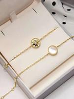 Fashion-forma della stella d'argento con la natura shell ciondolo braccialetto per le donne collana braccialetto di fascino regali gioielli PS5313A