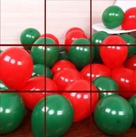 100 جهاز كمبيوتر شخصى 10 بوصة عيد الميلاد بالون لعب الاطفال بالونات الهواء زفاف جديد الديكور أعلى جودة نفخ بالونات شحن مجاني