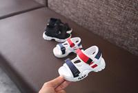 e8d61827e3a28 New Arrival. Baby comfortable sandals FENDI summer new boy girls beach shoes  kids casual sandals children fashion sport ...
