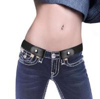 Buckle Freier Gürtel keiner Schnalle Stretch elastische Gürtel für Frauen-Mann No Hassle Gürtel Invisible Waistband CA11244--6 600pcs