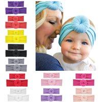 Parent- child headband Set Mom and Baby headwear Solid Color ...