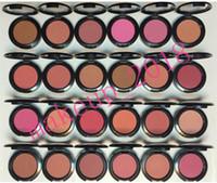 Fabrika Doğrudan Ücretsiz Kargo Yeni Makyaj Pırıltılı Yüz 6g Sheertone Allık 24 Farklı Renkler 1 adet ePacket nakliye