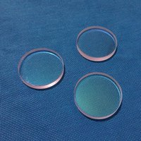 Alta precisão 27,9 * 4.1mm Lentes Circular JGS1 Quartz Indicador de Proteção Placa de filme de vidro 1064nmar peças ópticas para máquina a laser