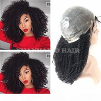 8A High Quality 1B Virgin Indian Hair Afro Kinky Curl Full T...