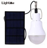 ON SALE ! Rechargeable LED Bulb Portable Solar Panel Light S...