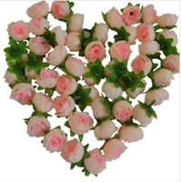 結婚式の企画ホリデーパーティー3cm偽の花の家の装飾ベビーシャワーのための人工的なバラの花の頭