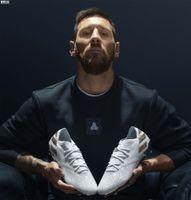 Nuevo llega el hombre Messi Nemeziz 19+ sin cordones FG as 19 + x 19.1 zapatos Slip-On de fútbol de fútbol de alta botas del tobillo Tacos Tamaño US6.5-11