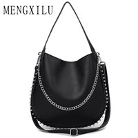 2019 Fashion MENGXILU 2018 Chains Women' s Handbags High...