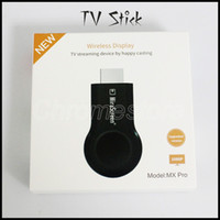 Vendita calda MX Pro TV Stick Full HD 1080P Anycast Miracast DLNA AirPlay WiFi Display Ricevitore Dongle per Andriod IOS cellulare