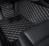 Sol personnalisé voiture tapis pour Toyota Land Cruiser 100 200 terres RAV4 Cruiser Prado 120 150 Camry 40 50 Corolla E120 E150 Car Mats Pied