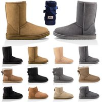 Cheap Designer Boot For Women Winter Snow Boots Ankle Short ...