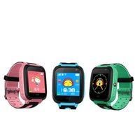 Enfants Smart Watch 1.44 '' Écran GPRS Tracker Enfants Watch lampe de poche caméra portable Tracker Finder Smartwatch PK Q528 Q50 pour Android IOS