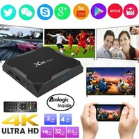 X96Max Android 8.1 Amlogic S905X2 Quad Core 2.4G WiFi BT H.265 Smart TV Box