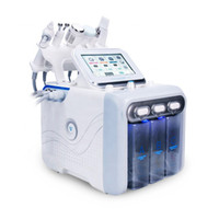 6 in 1 Hydra Yüz Makinesi RF Cilt Rejuvenaiton Mikrodermabrazyon Hidro Dermabrazyon Bio-Kaldırma Kırışıklık Temizleme Hidrakasiyal Spa Makinesi
