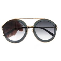 Vintage Round Sunglasses Women 2019 Fashion New Arrival Glas...