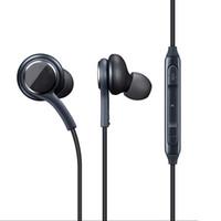 Auricolari per Samsung S8 S7 S6 S4 J5 da 3,5 mm nelle cuffie per cuffie cablato dell'orecchio con microfono