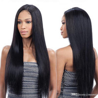 Beauty Brazilian Wig Long Straight Wig with Bangs Black Colo...