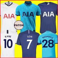 Tottenham Hotspur 19 20 KANE NDOMBELE uniforme de futebol 2019 Camisa 2020 terno futebol masculino e infantil LUCAS SPURS ERIKSEN DELE SON TOT