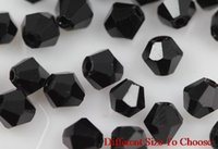 4mm 6mm 3mm 1000Pcs lot strand Bicone Faceted Glass Cuts Loo...