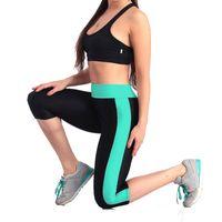 GOSOUER vita alta Donne Pantaloni Yoga elastico teso grande formato S-XL Fitness Donna Sport Leggings per Running Gym Fitness