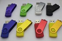 2019 pendrive Promoção quente 64GB 128GB 256GB MIX para USB presente Flash Drive U Disk estilo de rotação memory stick com Fedex
