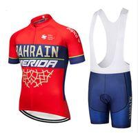 2020 Sommar Hot Merida Team Cykling Jersey Snabb Dry Ropa Ciclismo Mens Cykelkläder Gel Andningsskydd Bubbor Kort sätter män
