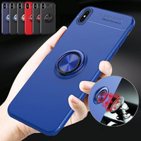 For Huawei Xiaomi redmi note Case Magnetic Car Holder Magnet...