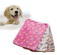 لينة دافئ باو طباعة كلب صغير القط بطانية السرير حصيرة بيوت الأقلام عالية ماصة التنظيف تجفيف حمام منشفة pet المنتج 40 * 60 سنتيمتر