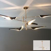 Delightfull Coltrane hanging light lamp bird wing nordic Europe dinning living foyer post modern LED pendant