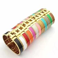 12MM Fashion Stainless Steel Cuff Bracelets & Bangles Wristb...