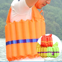 (A444X) 2pcs Polyester Adult Life Jacket Universal Swimming ...