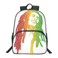 New Fashion Bob Printed Backpacks For Teenagers Casual Schoo...