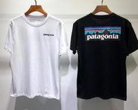 Sommer T-shirt Kurzarm Tee Männer Frauen Liebhaber Mode Männer Frauen T-shirts Patagonien