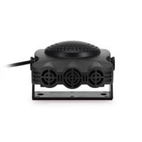 Freeshipping 150W 12V Calentador del coche Desempañador del ventilador Tablero de instrumentos El enchufe del cigarrillo se puede calentar rápidamente dentro de un minuto portátil duradero