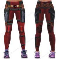 2020 multi Harleen Quinzel Poder Flex Yoga Leggings Batman Harley Quinn Gym Fitness treino de corrida calças justas Sexy Magro Skinny Calças Mulher