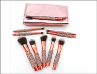 Professional 10 PCS set eye shadow Blush Makeup Brushes Set ...