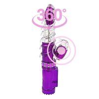 Rechargeable Double Vibrateurs Pour Les Femmes Rotation Vibrant Clitoris Vagin Lapin Gode Vibrateur Sex Toys Pour Femme Machine De Sexe Y190711