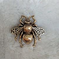 Métal Abeille Vvintage Broche Femmes Insecte Abeille Broche Costume Épinglette Bijoux De Mode pour Cadeau Partie Epacket Expédition