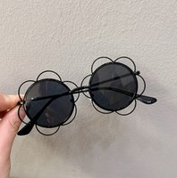Sunglasses Floral Girl Sun Glasses Flower Frame Kids Eyewear...