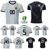 Argentinien Fussball Jersey Copa America lo lo celso tagliafico Saravia Paredes Pezzella Dybala Football Hemd Kits