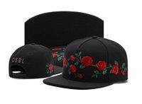 Cayler Sons Snapback Caps CSBL Rosa Flor Béisbol Sombreros Sombreros ajustables Snapbacks Rainmaker Cap Royal Forest Rose Bisher Hatten Wir Leider