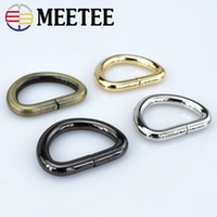 Meetee F4- 6 D ring buckle Bag ring buckle fittings for men a...