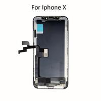 OEM kit OLED Original LCD para el iPhone de x LCD, pantalla táctil de cristal de digitalización pantalla TFT LCD para iPhone x