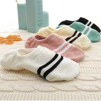5 пар новых Arrivl Женские носки смешные фрукты милые счастливые искусство силиконовые скольжения невидимый носок 35-40