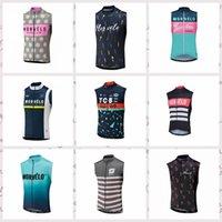 Morvelo 팀 맞춤형 자전거 민소매 유니폼 조끼 여름 남성 가벼운 부드러운 편안한 야외 스포츠 저지 H042426